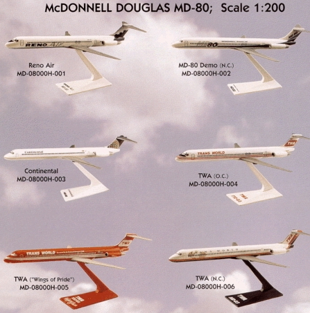 Mcdonnell Douglas Md 80 Jet. AIRPLANE SUPERSTORE